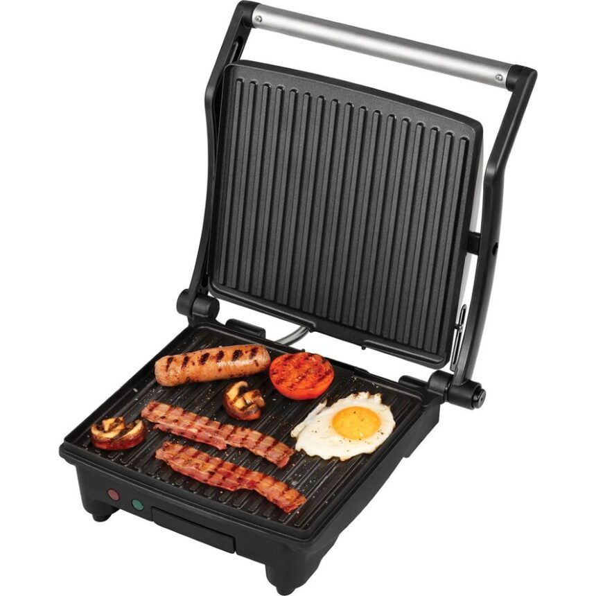 GEORGE FOREMAN 602829 Flexe Grill - Silver, Silver