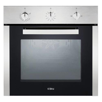 Cda SG120SS Single Built In Gas Oven, Stainless Steel